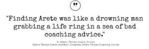 shot put private coaching