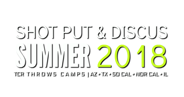 Shot put discus summer throws camp houston texas