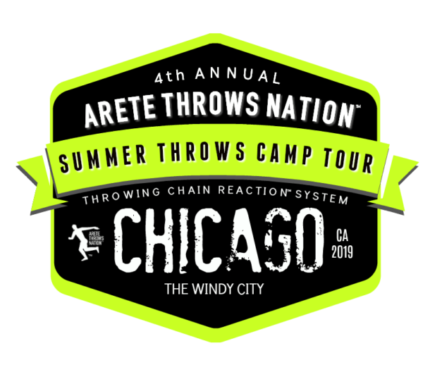 shot put and discus summer throws camp Chicago Illinios