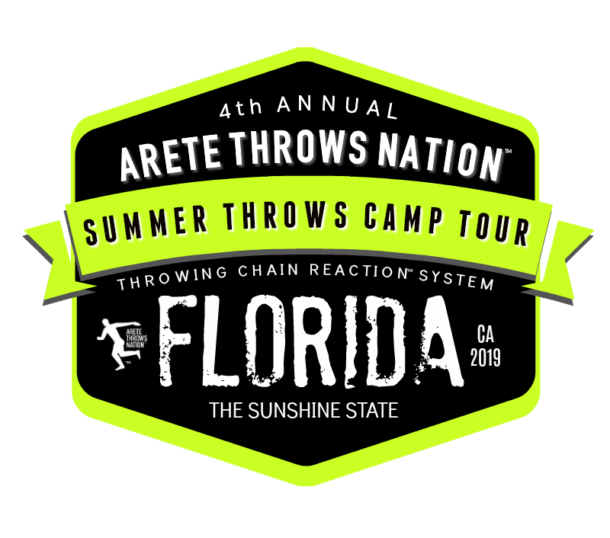 2019 FLORIDA SUMMER Shot Put and Discus Throws Camp