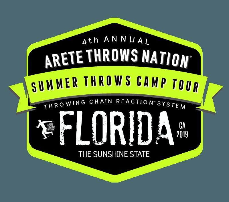 2019 FLORIDA SUMMER Shot Put and Discus Throws Camp