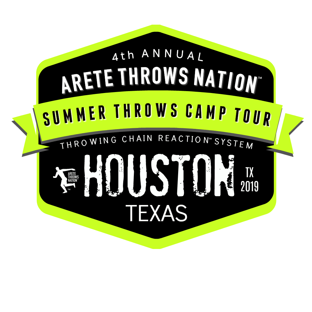 shot put and discus throws camp Houston Texas
