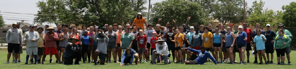 shot put and discus throws camp preseason jan 2020 dallas tx