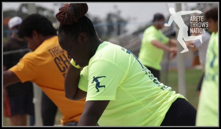 2019 shot put and discus throws camp New Jersey