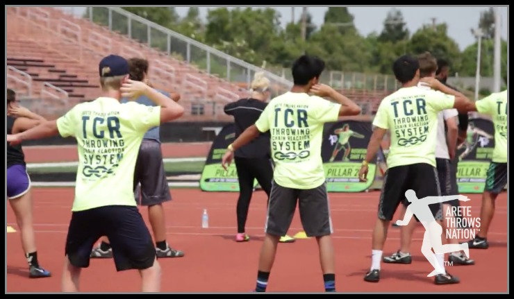 2019 shot put and discus throws camp Northern California