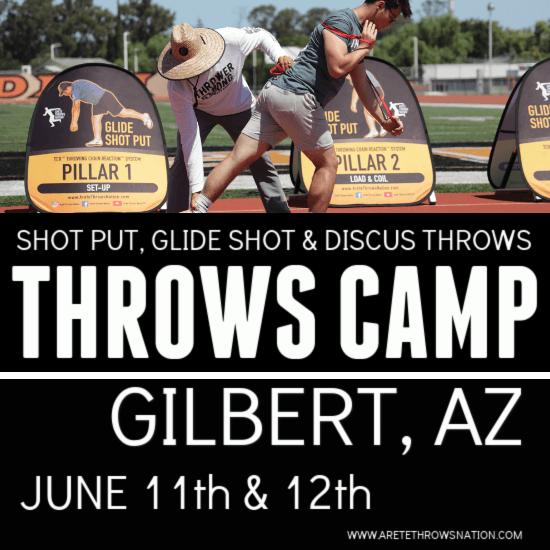 2021 summer throws camp phoenix gilbert Arizona