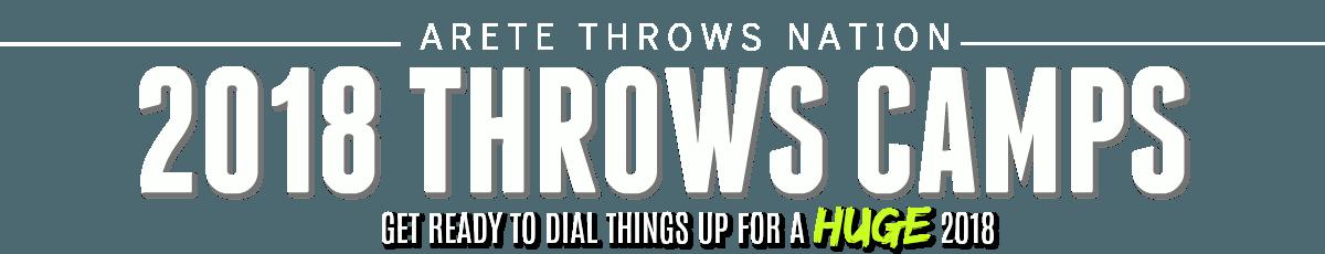 shot put and discus throws camps preseason california arizona teas illinios iowa