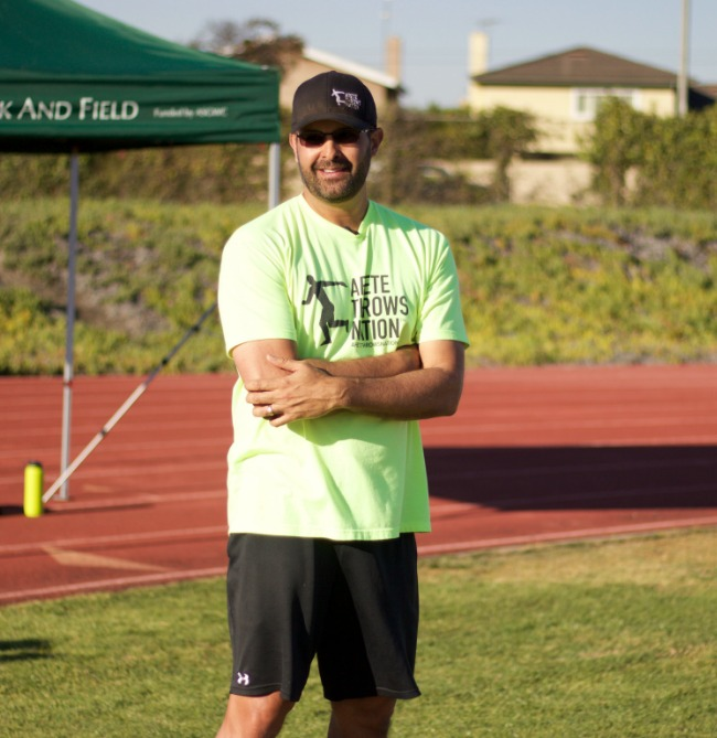 founder of arete throws nation coach erik johnson