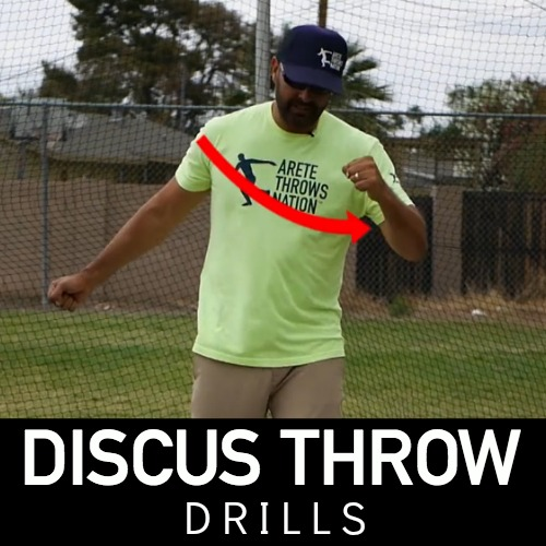 discus throw technical drills