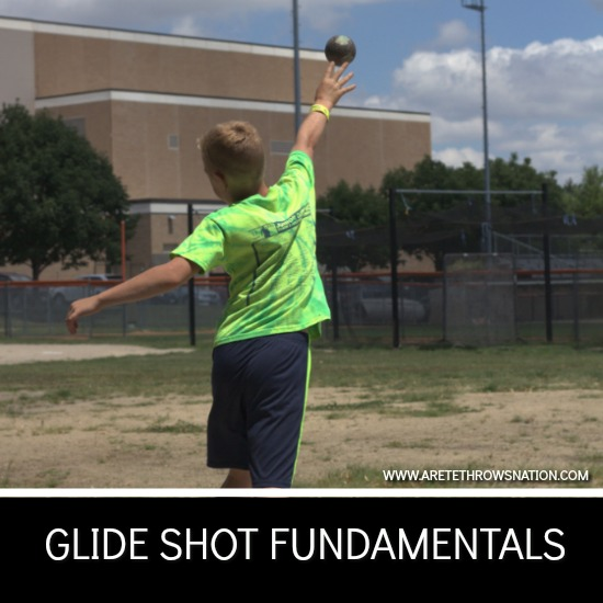 glide shot put technique fundamentals