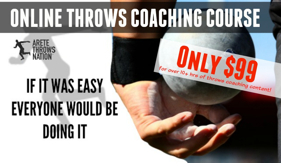 shot put and discus online throws coaching course