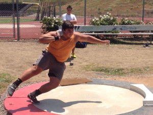 nick ponzio shot put arete throws nation
