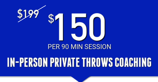 private throws coaching