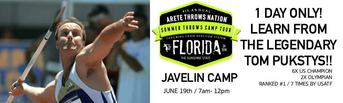 summer javelin camp florida