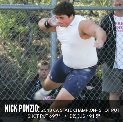 NICK ponzio shot put