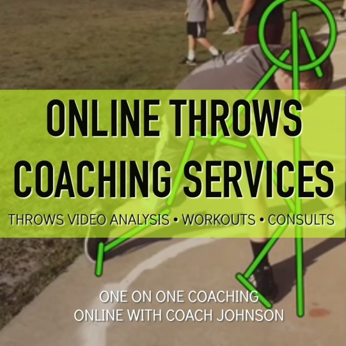 SHOT PUT AND DISCUS TECHNIQUE COACHING