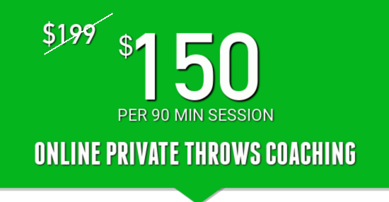 online private throws coaching