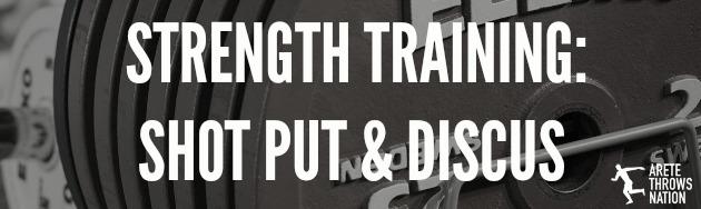 strength training shot put discus