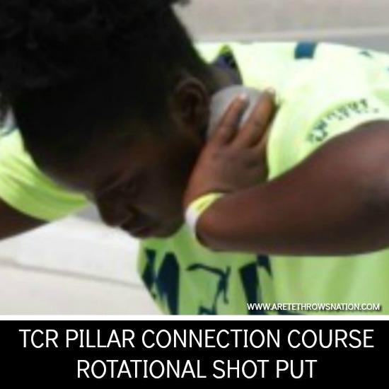 shot put technique coaching