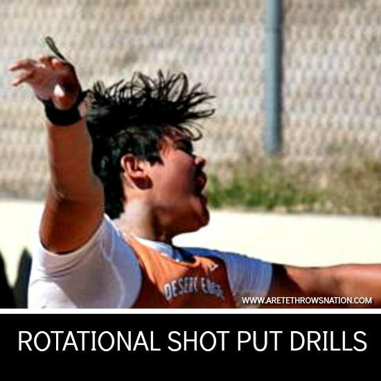 rotational shot put technique coaching course
