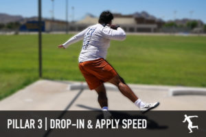 Shot put apply speed