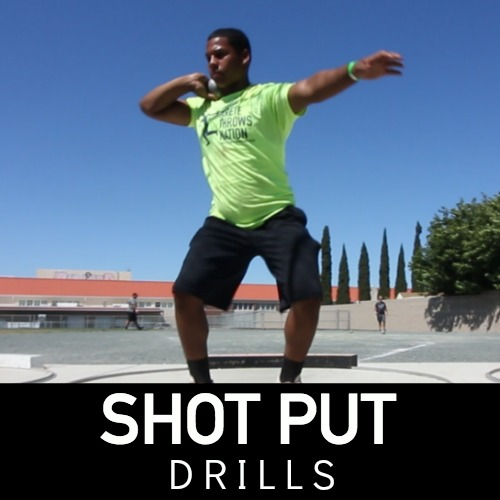 shot put technical drills