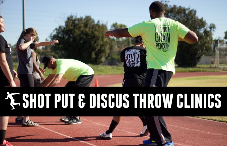 shot put discus clinics california and arizona