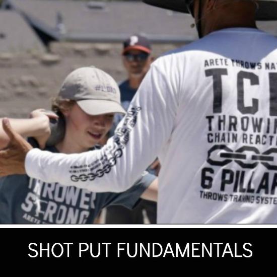 shot put technique fundamentals
