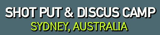 SHOT PUT DISCUS THROWS CAMP SYDNEY AUS