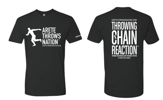 ATN Black T-shirt with white logo