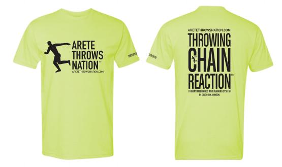 ATN Yellow T-shirt with black logo
