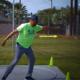 Shot put and discus throw technique