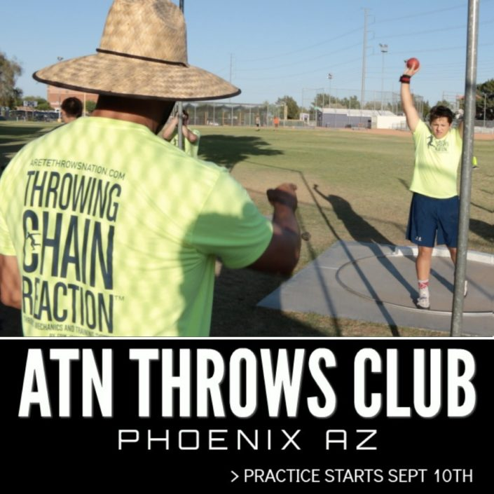 shot put and discus training phoenix az