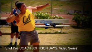 shot put glide block