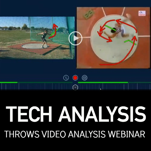 shot put and discus video analysis