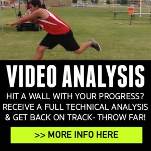 shot put and discus throws technique video analysis