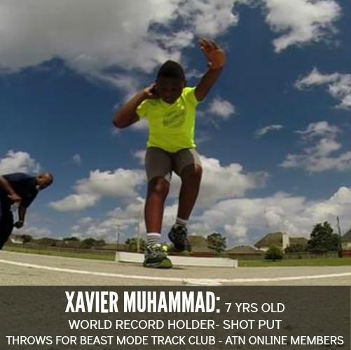 shot put world record holder 7 yr old