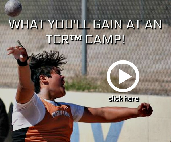 shot put and discus summer throws camp