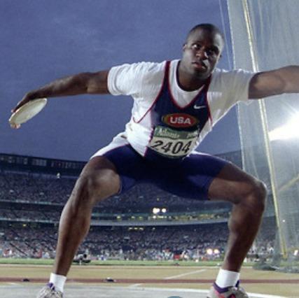 Anthony Washington- Discus Legend! 4X US Champion, 3X Olympian: Discus: 233'5