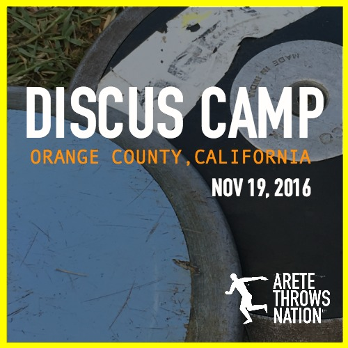 how to throw the discus camp orange county ca 2016