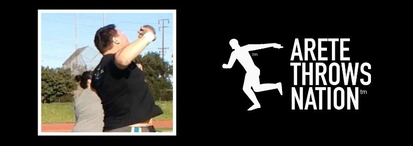 shot put and discus throw power position coaching tips