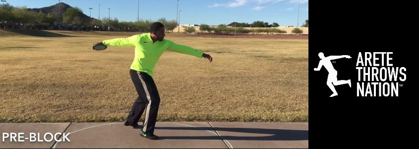 discus throw drills and technique