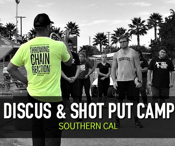 shot put and discus camp orange county california so cal inland empire los angeles