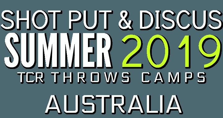 shot put discus throws camp australia