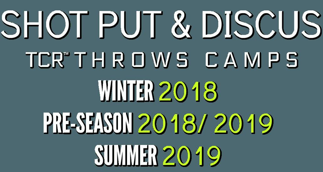 shot put discus throws camp arizona california texas australia northern california southern california