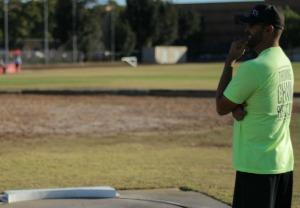Coach Erik Johnson arete throws nation