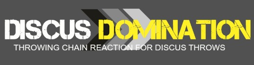 discus domination mini banner