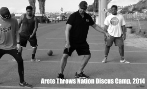 Discus Camp Arete Nation