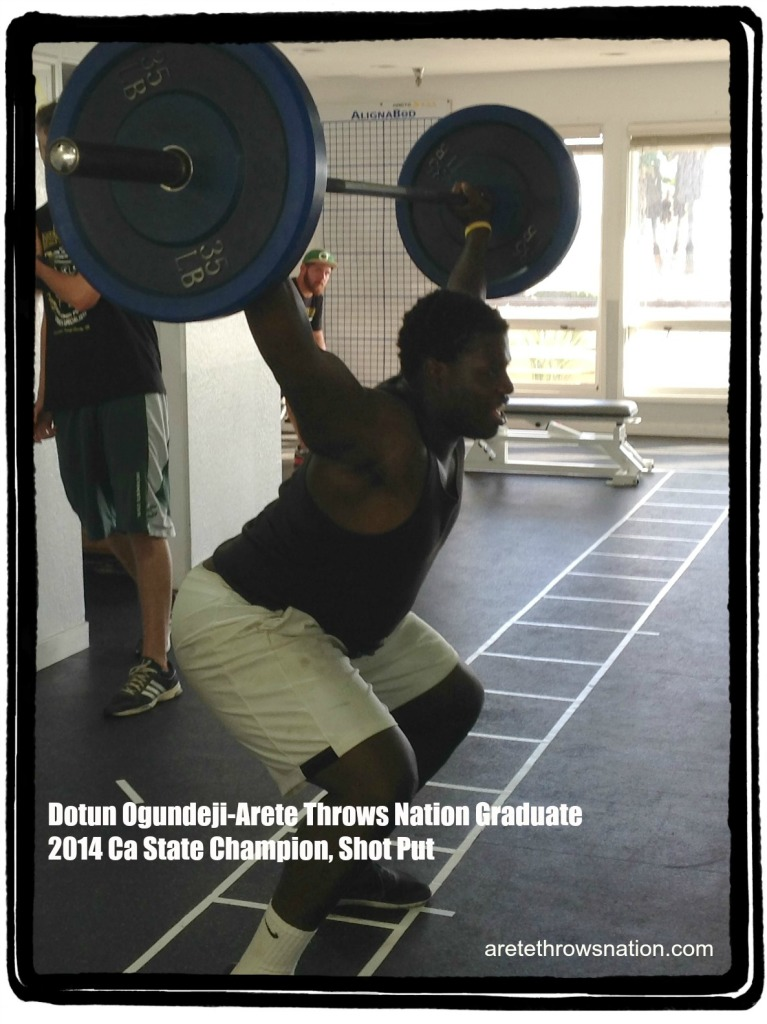 Olympic Lifting For The Throws dotun ogundeji olympic lift  767x1024