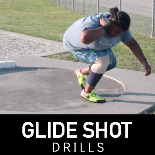 Glide shot drills